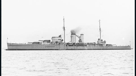 HMS EXETER (British Cruiser, 1929)