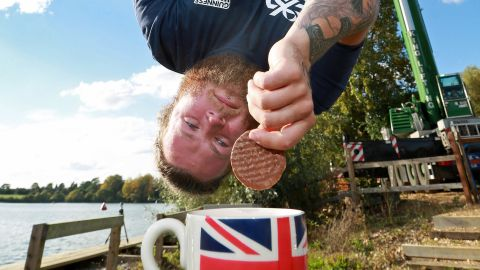 Berry said the chocolate hobnob was the chosen biscuit as it does not break or crumble easily.