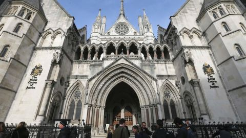The case at the High Court in London was the first of its kind in England -- and possibly the world.