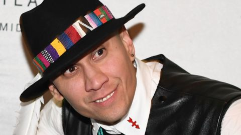 """Jaime """"Taboo"""" Gomez of the Black Eyed Peas revealed in November that he survived testicular cancer."""