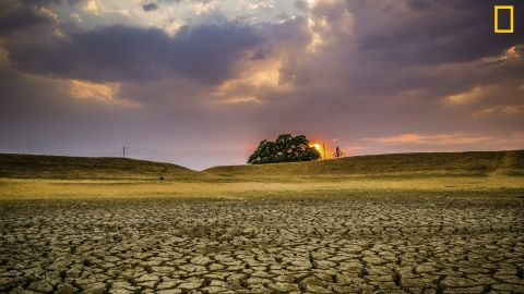 """Photo: Ujjal Das, India: """"The pic was taken in Puruliya District of West Bengal. This is a drought-prone area and in summertime the whole district becomes dry creating water problem."""" <em>Via National Geographic Your Shot</em>"""