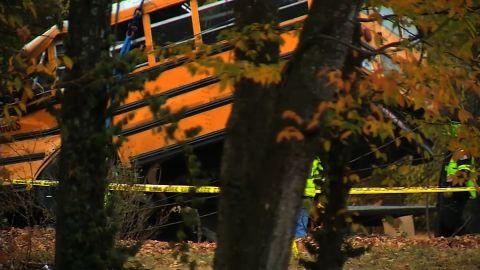 chattanooga bus crash removal