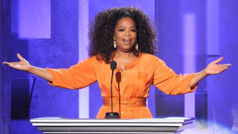 PASADENA, CA - FEBRUARY 22:  Oprah Winfrey speaks onstage during the 45th NAACP Image Awards presented by TV One at Pasadena Civic Auditorium on February 22, 2014 in Pasadena, California.  (Photo by Kevin Winter/Getty Images for NAACP Image Awards)
