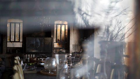 A blaze left this home damaged in Zikhron Ya'akov on November 23.