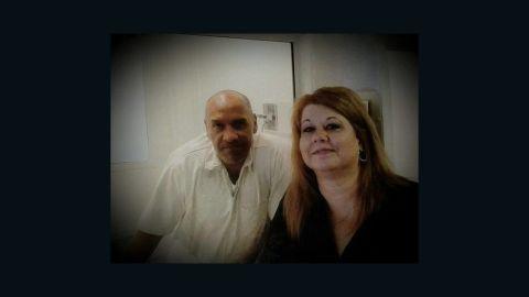 David Morales, left, and Vicki Juarez.