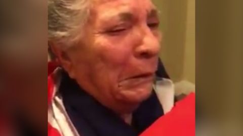 Grandmother reacts to Castro's death