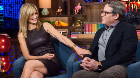 """Kyra Sedgwick and Matthew Broderick admit to a dating past on """"Watch What Happens Live."""""""