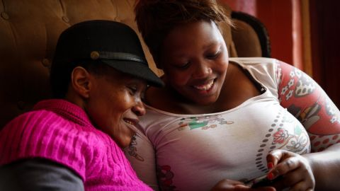 Titila Mputa has seen first hand just how devastating HIV can be. Her mother suffered four strokes that they believe were brought on by the virus.
