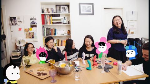 Shanghai-based Buzz and Bloom provides free sex education and advice via WeChat.