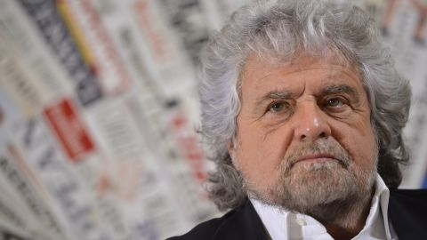 Beppe Grillo has campaigned for a No vote in Sunday's referendum.