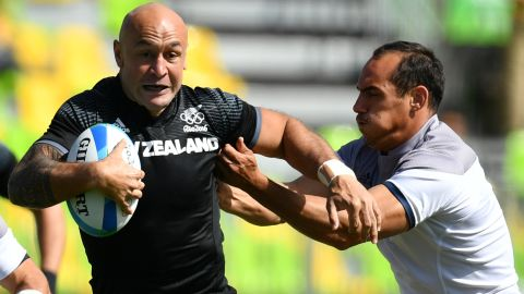 """New Zealand is rebuilding after the disappointment of missing out on an Olympic medal, but veteran former captain DJ Forbes (pictured) has made a record 80th tournament appearance for the 12-time series champion in the Dubai opener. Former players Scott Waldrom and Tomasi Cama will be interim coaches until June 2017, when Scotsman Clark Laidlaw takes over from <a href=""""http://cnn.com/2016/10/14/sport/gordon-tietjens-samoa-rugby-sevens-coach/"""" target=""""_blank"""">the departed Gordon Tietjens.  </a>"""