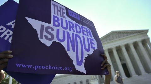 """In a dramatic ruling, the Supreme Court on June 27 t<a href=""""http://www.cnn.com/2016/06/27/politics/supreme-court-abortion-texas/index.html"""" target=""""_blank"""">hrew out a Texas abortion access law</a> in a victory to supporters of abortion rights who argued it would have shuttered all but a handful of c"""