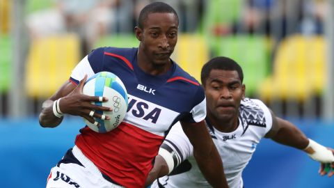 After matching their best series finish, the Americans disappointingly failed to make the quarterfinals at Rio 2016. Speedster Perry Baker (above) will again be a key player after finishing second in the try stakes last season, with 48 in 55 matches.