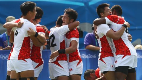 """As it did at the 2015 Rugby World Cup, Japan <a href=""""http://cnn.com/2016/08/09/sport/sonny-bill-williams-new-zealand-rugby/"""" target=""""_blank"""">proved to be the surprise package at Rio 2016</a>, finishing fourth with a blend of homegrown talent and overseas imports. Former New Zealand assistant Damian Karauna has replaced head coach Tomohiro Segawa ahead of Tokyo 2020, and he went into the Dubai opener with only three players who had previous world series experience."""
