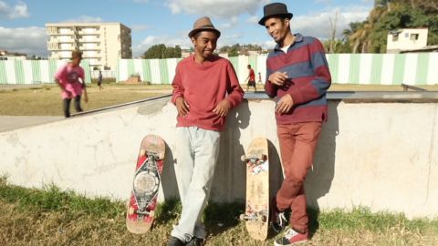 Skating is also picking up pace in Madagascar, where local skater Tinady Andriamasinoro established the Skateboarding Malagasy Educational Group known as SMEG.