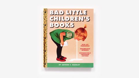 A collection of spoof children's book covers is drawing outrage.