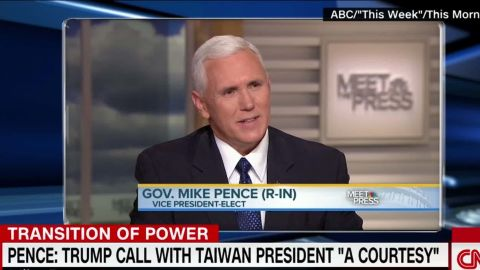 Pence says call from president courtesy_00002307.jpg
