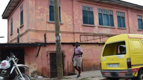Crooks operated a sham US embassy out of this building in Accra, the US State Department said.