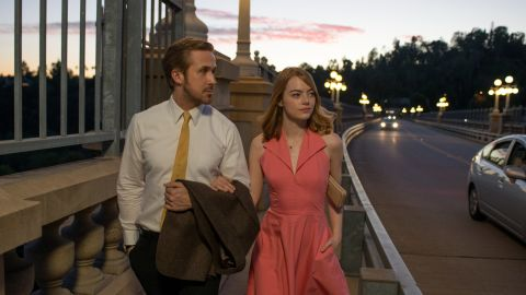 """<strong>""""La La Land"""":</strong> Ryan Gosling and Emma Stone star as a musician and actress who find love in this award-winning musical.<strong> (HBO Now) </strong>"""