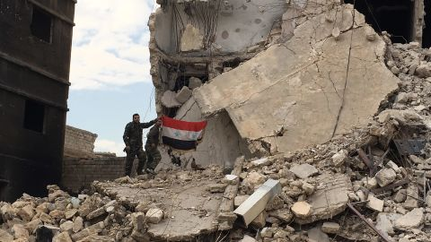 Shelling and aerial bombardment have heavily damaged Aleppo's old city.
