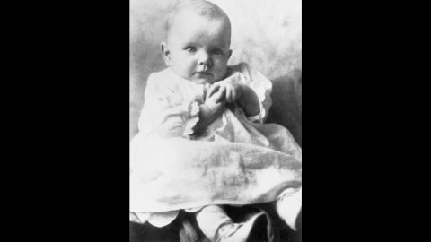 Glenn, here in a family photo at 4 months old, was born July 18, 1921, in Cambridge, Ohio.