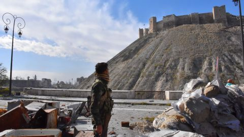 Syrian government forces have taken control of much of Aleppo's old city this week.