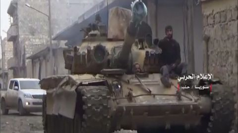 syrian troops exit