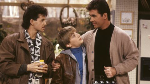 """A photo from a 1989 episode of """"Growing Pains."""""""
