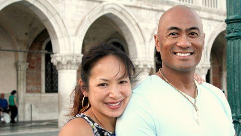 Gail and her husband LT. COL. Kato Martinez