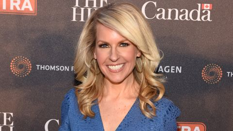 WASHINGTON, DC:  Monica Crowley at the Embassy of Canada on April 24, 2015 in Washington, DC.  (Photo by Dave Kotinsky/Getty Images)