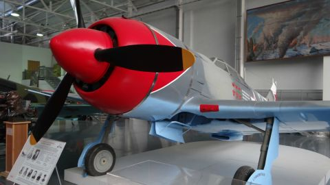 Soviet fighter aircraft were often of revolutionary design and airplanes such as this Polikarpov were among the first monoplanes with retractable landing gear.