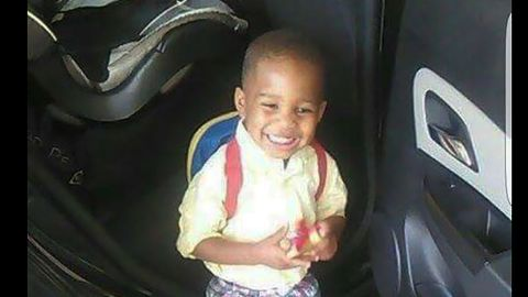 Photo of Acen King, 3, the shooting victim in an Arkansas road rage incident.