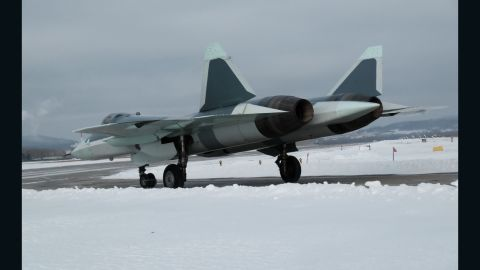 The T-50 stealth fighter from the  manufacturer's website