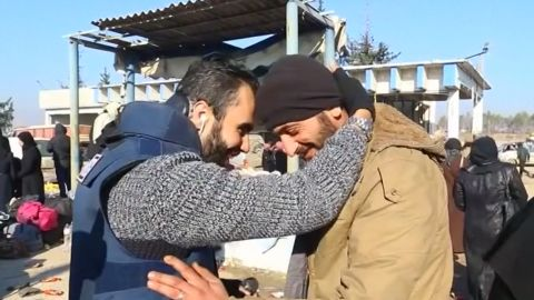 Aleppo evacuees
