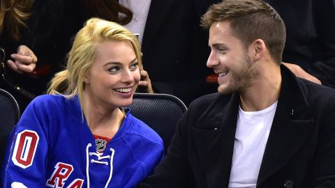 """Margot Robbie offered a saucy <a href=""""http://www.cnn.com/2016/12/20/entertainment/margot-robbie/index.html"""">confirmation of her marriage</a> to British director Tom Ackerley. Australian news sources indicated the duo married in a secret, private ceremony."""
