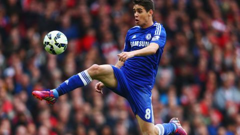Oscar signed for Chelsea in 2012, scoring 38 goals in 203 appearances. At Shanghai SIPG, he'll be earning a reported $491,000 a week.