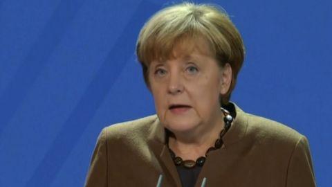 Angela Merkel press ocnference on December 23, 2016