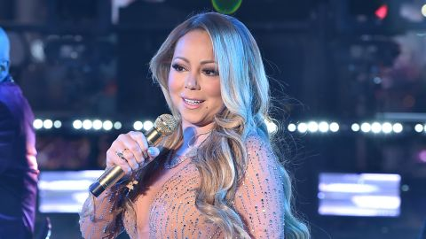 NEW YORK, NY - DECEMBER 31:  Mariah Carey performs onstage during New Year's Eve 2017 in Times Square at Times Square on December 31, 2016 in New York City.  (Photo by Theo Wargo/Getty Images)