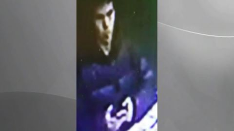 Surveillance footage of the suspect in the Turkey nightclub shooting. It is unknown when or where the surveillance video was shot from. CNN Turk along with other Turkish media outlets say they obtained the photos from police.