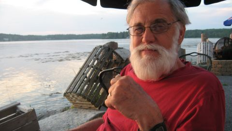 Paul Overby in Maine in 2013