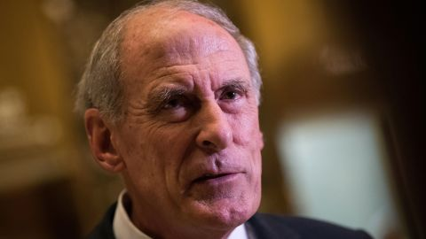 NEW YORK, NY - NOVEMBER 30: Sen. Dan Coats (R-IN) speaks to reporters at Trump Tower, November 30, 2016 in New York City. President-elect Donald Trump and his transition team are in the process of filling cabinet and other high level positions for the new administration. (Photo by Drew Angerer/Getty Images)