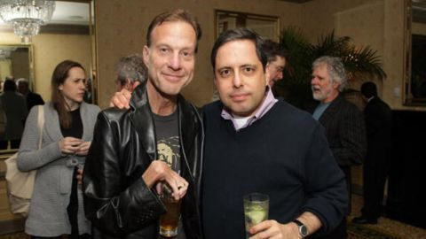 Reporter Serge Kovaleski, left, in New York City in 2010.