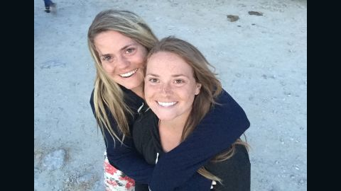 Shelby Payne, left, has type 1 diabetes, but her identical twin sister, Sydney, does not.