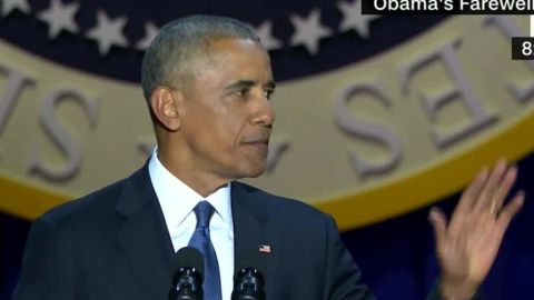 obama farewell address disruption four more years chant sot_00000524.jpg