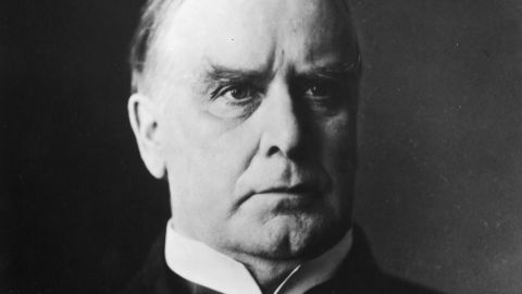 William McKinley, the 25th President of the United States, who served from 1897 to 1901.