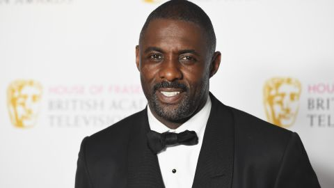 "British actor Idris Elba was People's 2018 ""Sexiest Man Alive."""
