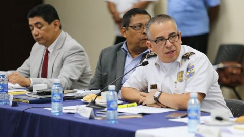 The number of murders declined last month, Howard Augusto Cotto says.