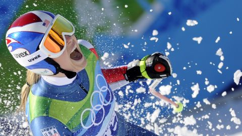 Golden girl Vonn achieved her Olympic dreams in 2010. She won the Olympic downhill gold at Whistler and added bronze in the super-G.