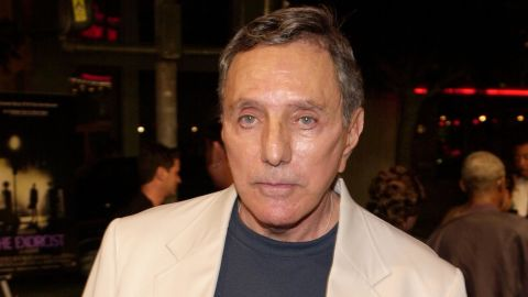 Tributes are arriving for William Peter Blatty, shown in 2000, from fellow writer Stephen King and others.