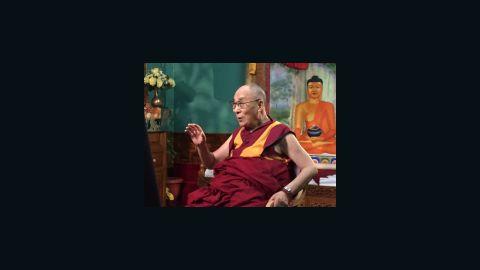 The Dalai Lama talks with CNN's Senior Medical correspondent, Dr. Sanjay Gupta